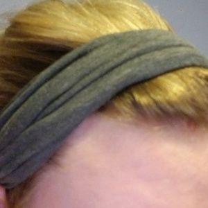 Grey Headwrap